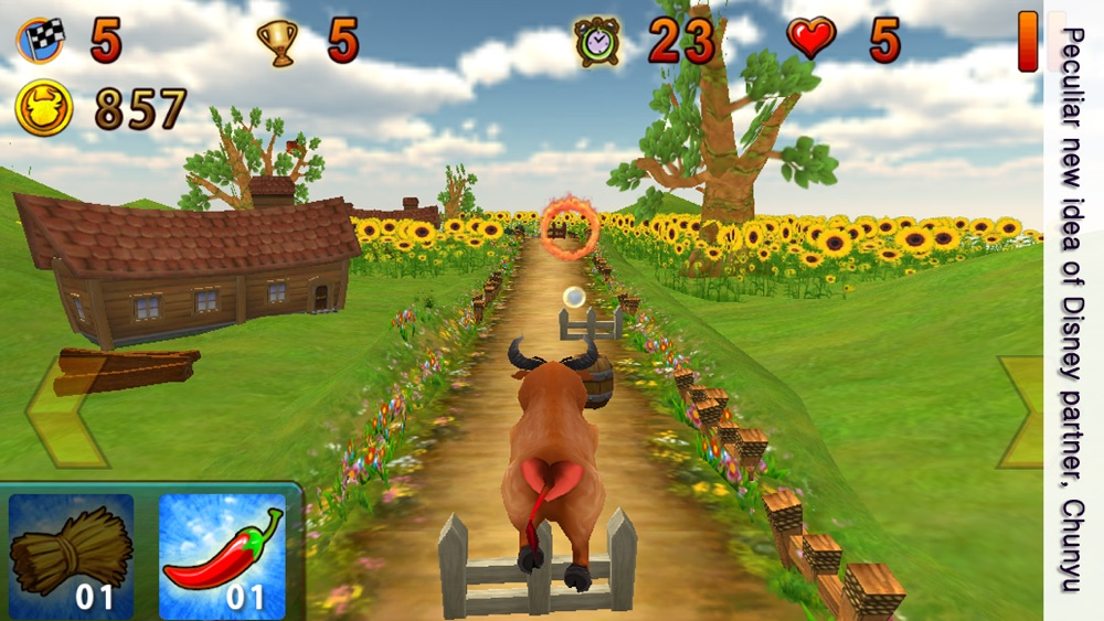 Bull King of circus: one touch action & racing game for jump & run Cheat Codes