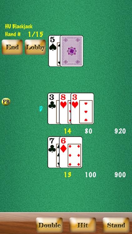 Headsup Poker Free (Hold'em, Blackjack, Omaha) screenshot-4