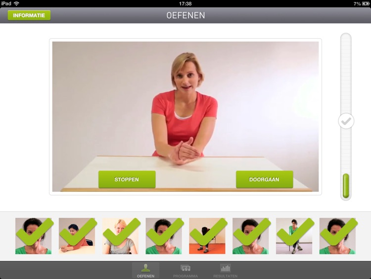 Oefen App Beroerte screenshot-4
