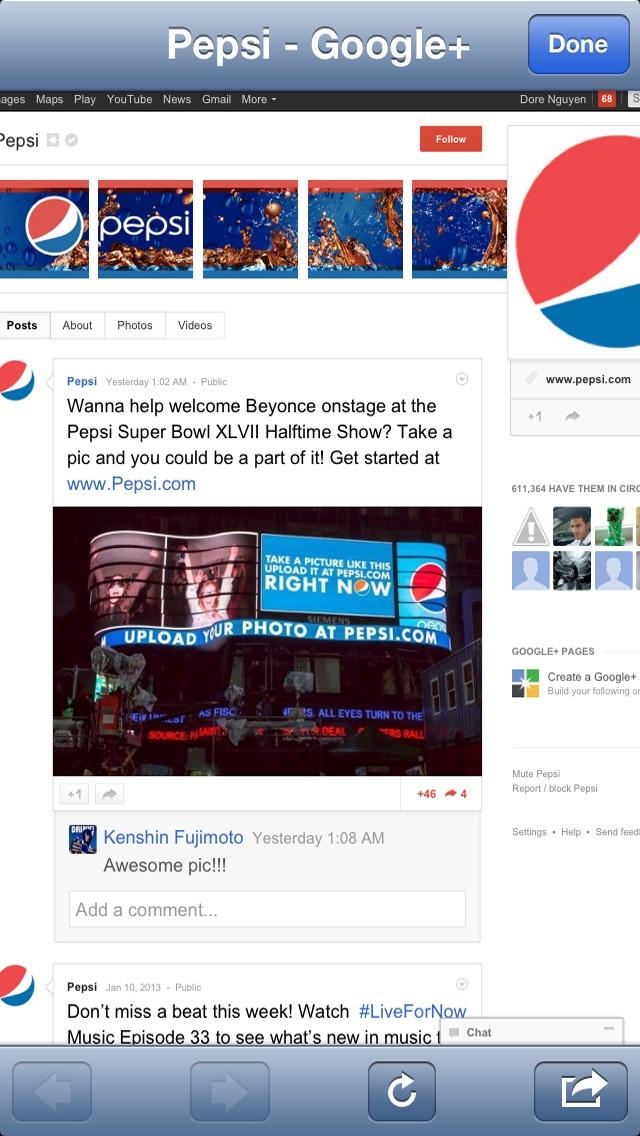 CoolApp for Google+ HD Screenshot