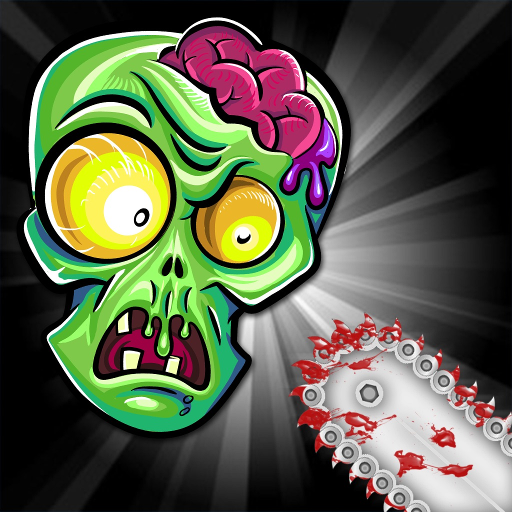 Angry Zomb-ie Head Protector-s: Save Your  Zombies Life From Blood Splat-ter Slaying Chainsaw-s FREE hack