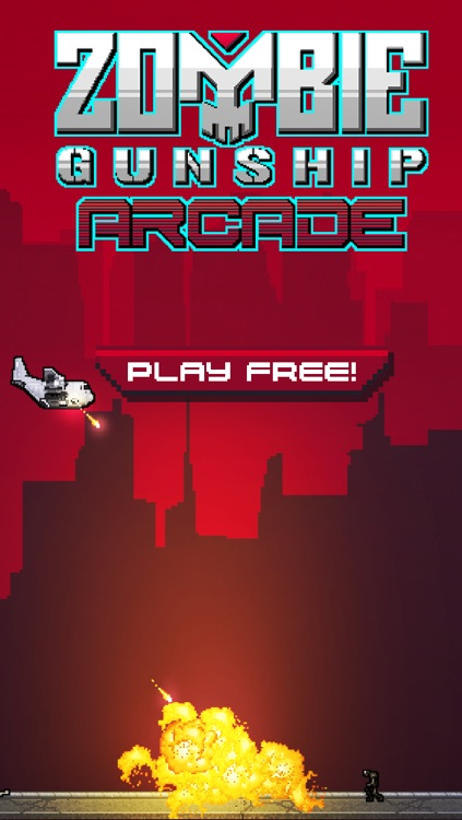 Zombie Gunship Arcade screenshot-0