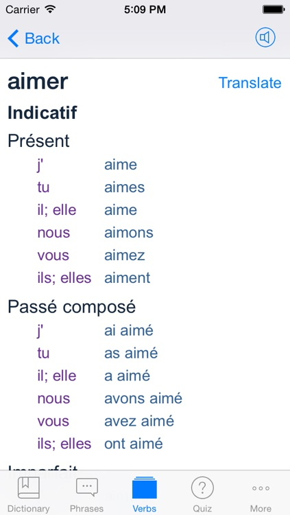 French English Dictionary + screenshot-3