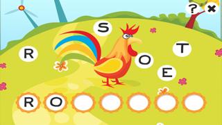 ABC 農場 !子供のためのゲーム: 学ぶ 言葉や動物とアルファベットを書き込むことができます。無償、新しい、幼稚園、保育園、学校のために、学習!のおすすめ画像5
