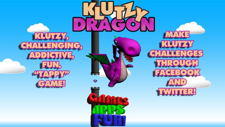 Klutzy Dragon - Tap to Train Your Dragon screenshot-0