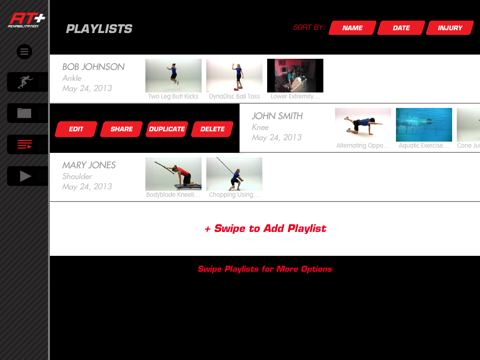 Athletic Trainer Plus: Rehab –Videos for Injury Rehab screenshot