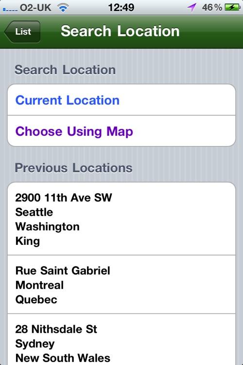 Go Grande - Find your nearest Starbucks screenshot-4