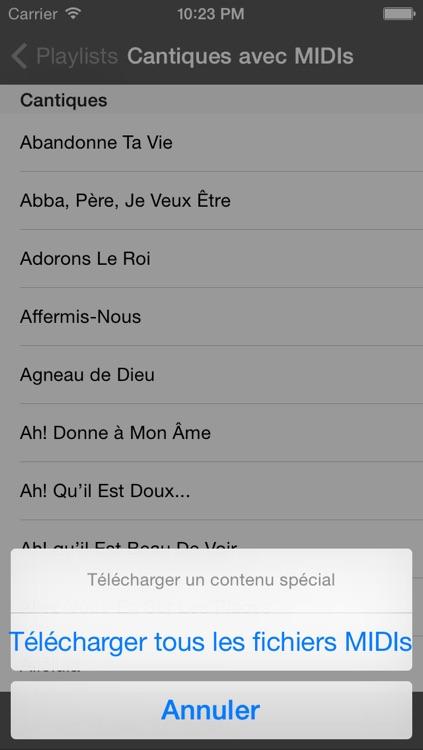 Hymnes et Louanges Adventistes screenshot-4