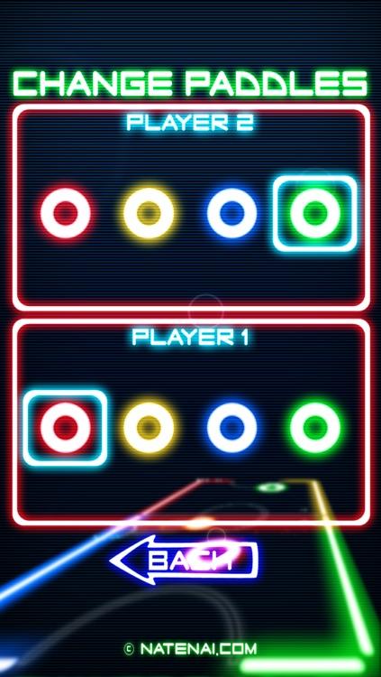 Glow Hockey screenshot-3