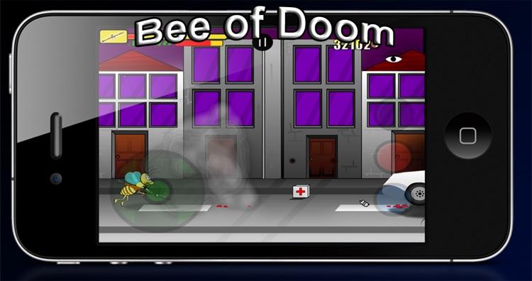 Bee of Doom Free screenshot-3