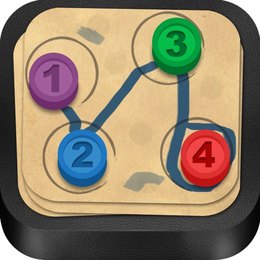 Connect Dots Lite - A Puzzle Adventure icon