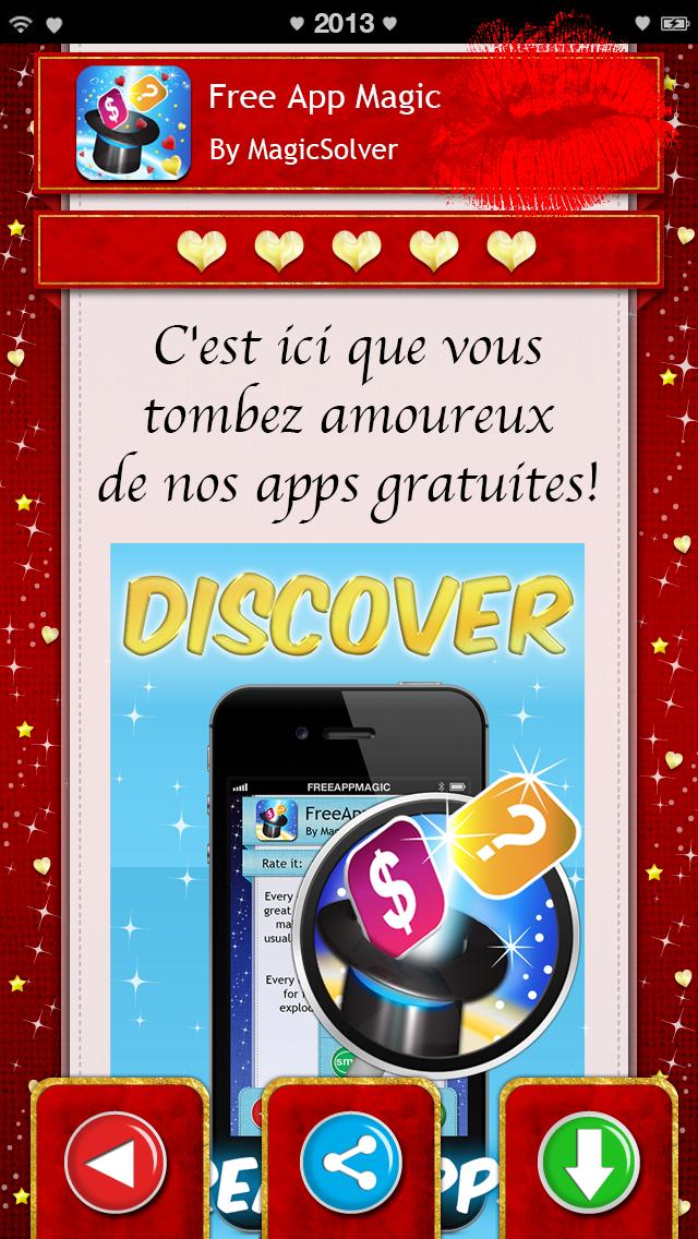 Saint Valentin 2013 : les 14 meilleures apps gratuites iPhone