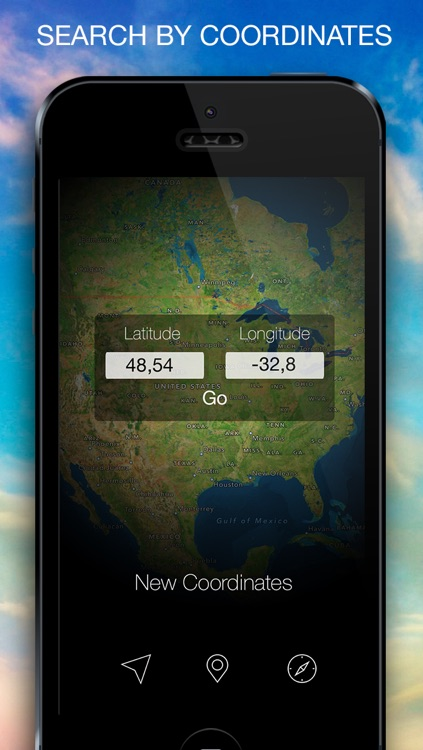 Coordinates - Your GPS Coordinates, Altitude, Compass screenshot-1