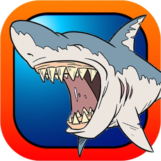 Adorable Diver Under Sea - Dangerous Shark Chase Free