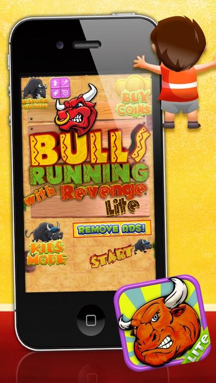 Bulls Running with Revenge LITE - FREE Game!