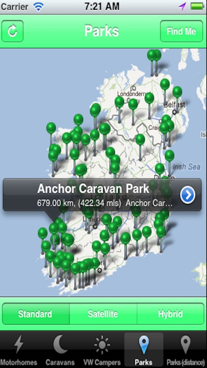 Caravan, Motorhome and Camping guide to Ireland