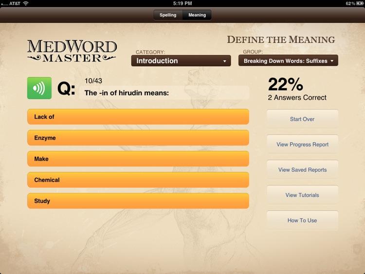 MedWord Master Free
