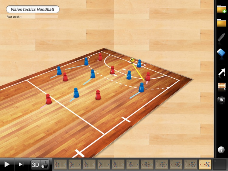 VisionTactics Handball screenshot-1