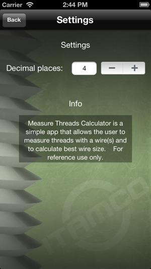 Measure threads on the app store keyboard keysfo Gallery