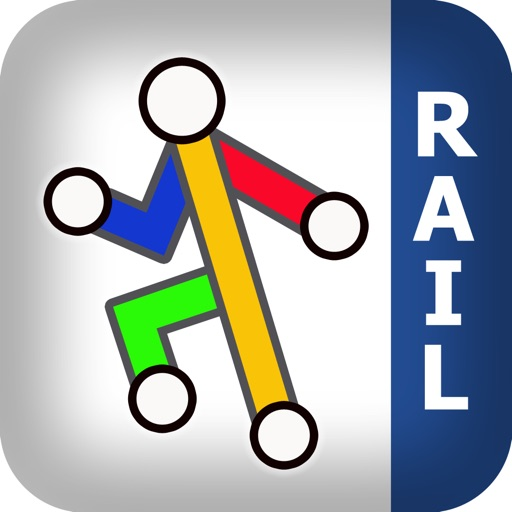 Great Britain Rail - Map and route planner by Zuti