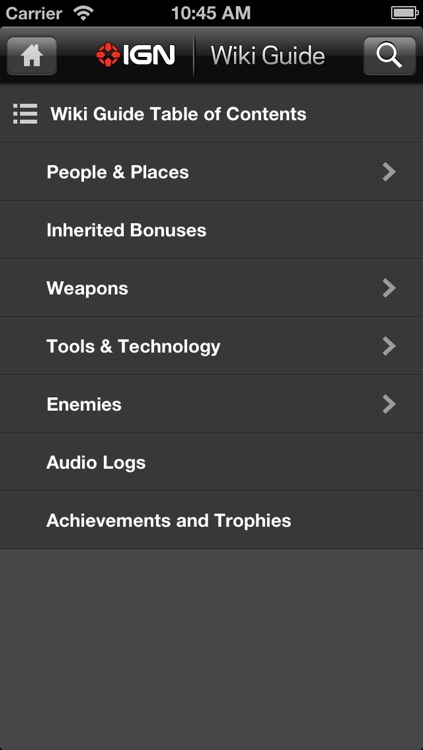 IGN App For Dead Space 3 screenshot-3