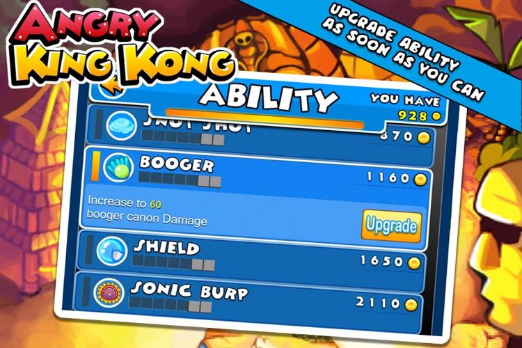 Angry King Kong HD screenshot-4