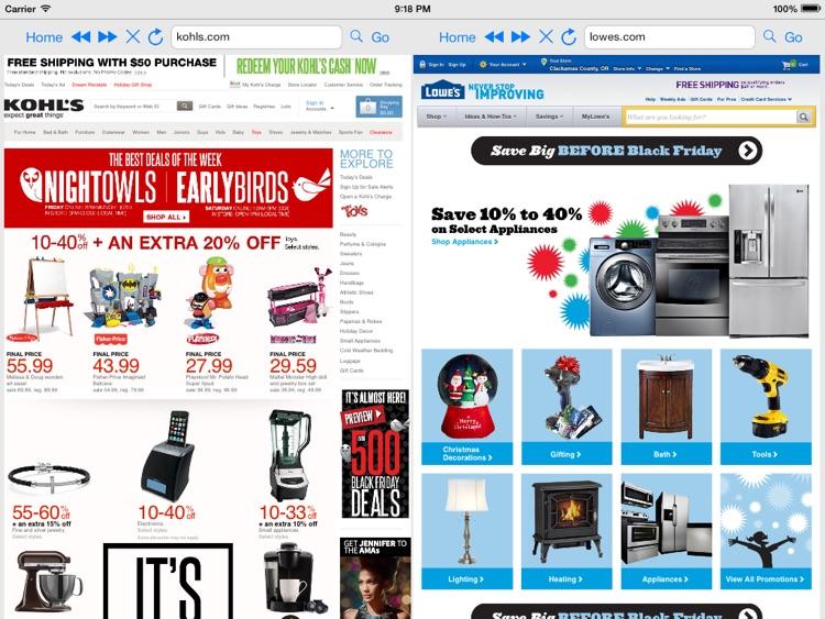 Split Screen Browser Pro