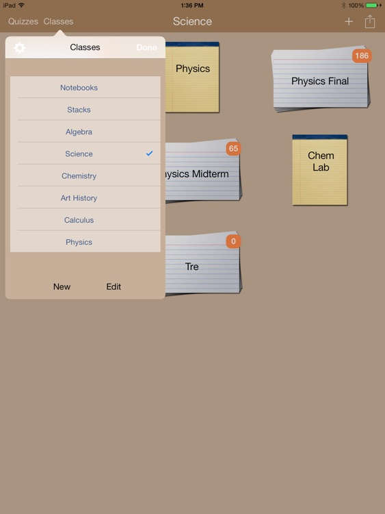 iStudious Lite - Note Taking + Flashcards w/ Handwriting and Rich Text screenshot-4