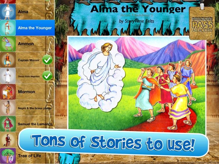 Book of Mormon Stories HD Director's Pass screenshot-3