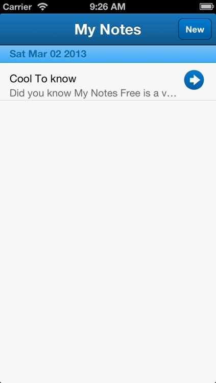 My Notes Free