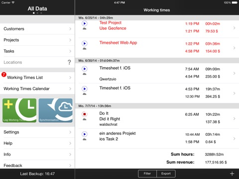top 10 apps like qlaqs timesheet time tracking software for iphone
