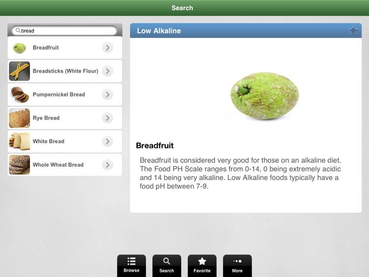 Alkaline Foods. screenshot-3