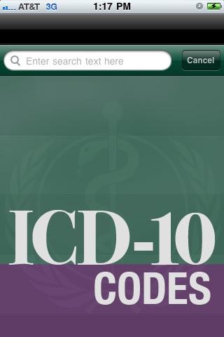 ICD10 Codes