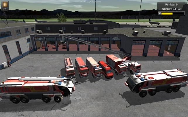 flughafenfeuerwehr simulator 2013