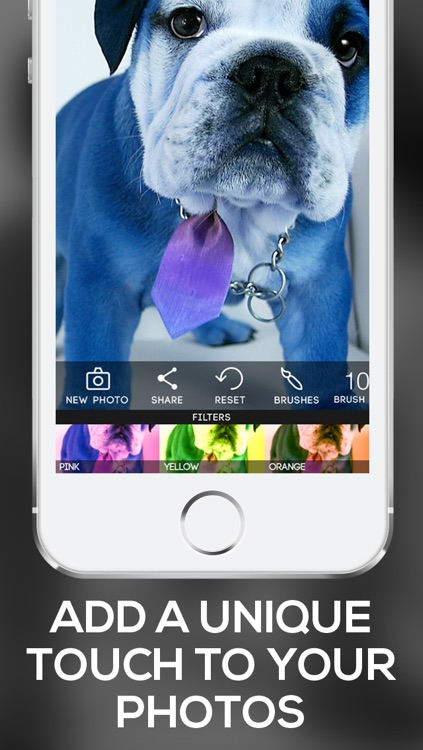 Color Filters: Custom Photo Filters + Photo Enhancements + Paint Effects