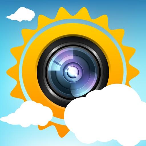 Baixar Weather-Snap - Ação Seu Tempo Local Como Uma Imagem para iOS