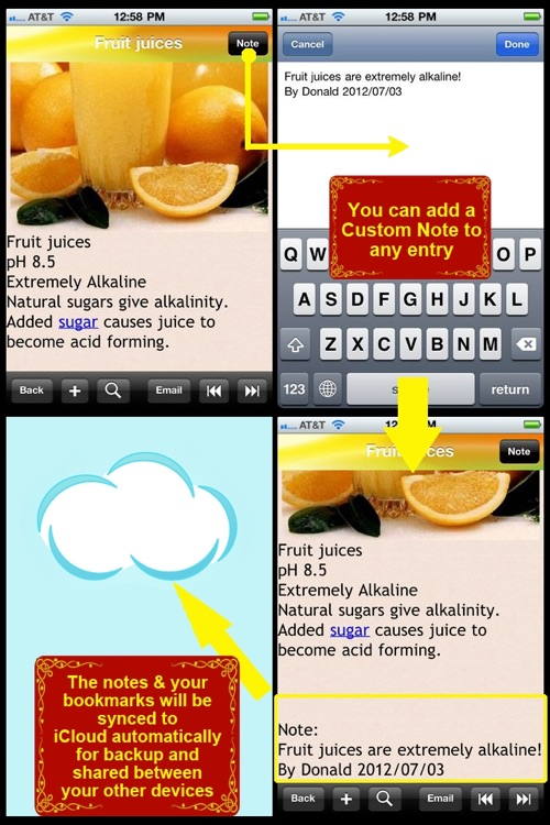 Alkaline Food for Health screenshot-3