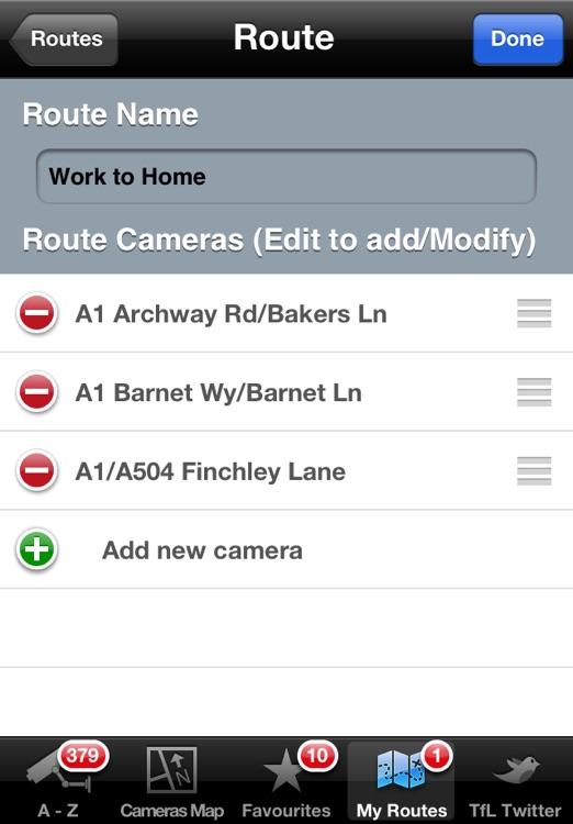 London JamCams - see road congestion live screenshot-3