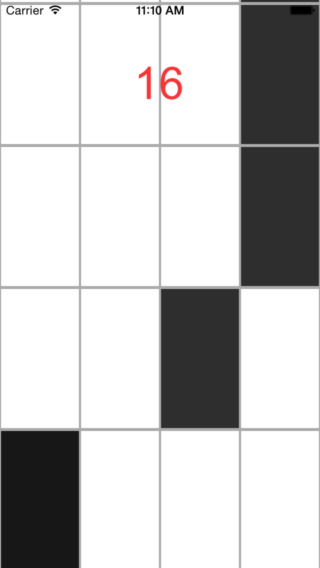 White Tiles- Don't touch white tiles screenshot two
