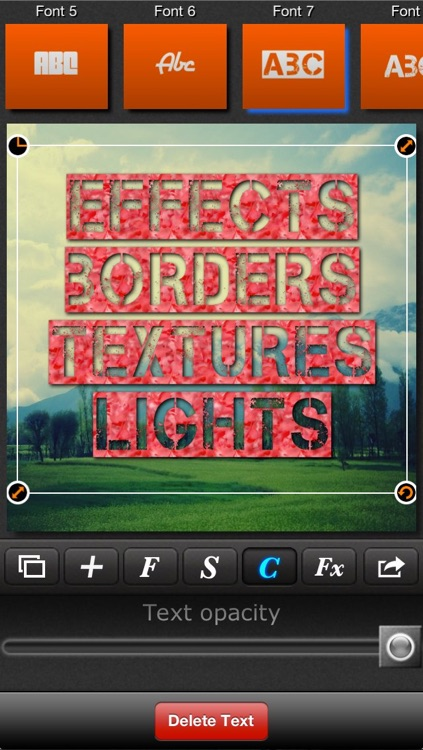 Textmatic - Text on photo and photo effects for Instagram screenshot-3