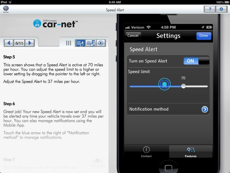 Volkswagen Car-Net Virtual Tour screenshot-4