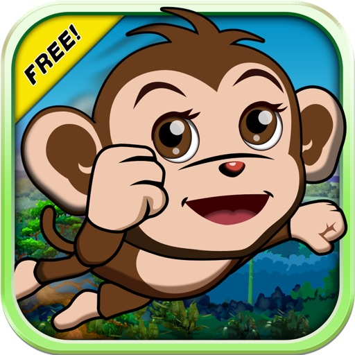 Baby Monkey Bounce : Banana Temple Forest Edition 2