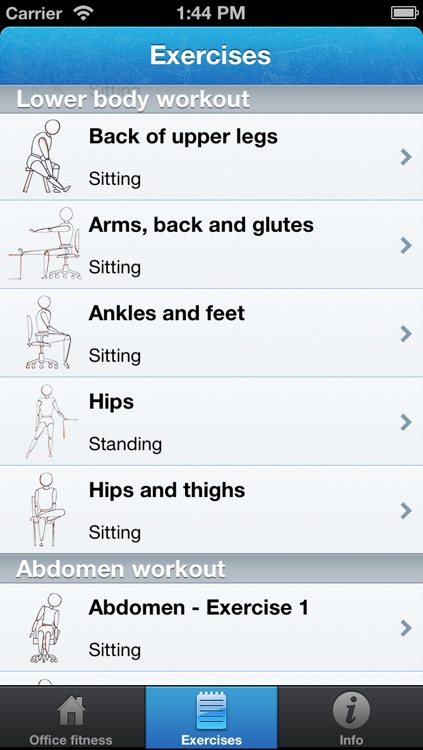 Office Fitness Free screenshot-3