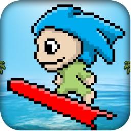 Pixel Surfer : Ride the Wave Temple Version 2