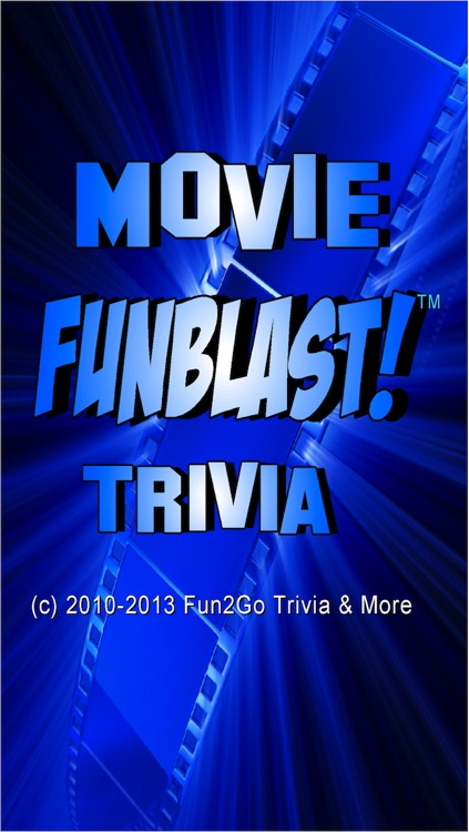 Movie FunBlast Trivia Quiz