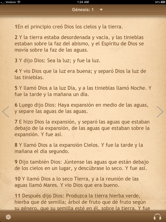 La Biblia Reina Valera para iPad con Audio screenshot-1