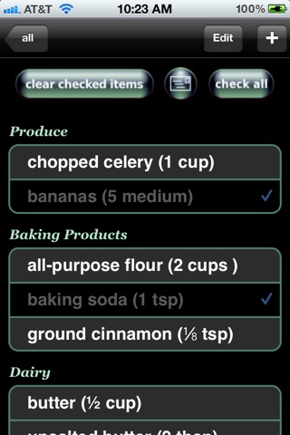 All My Recipes review screenshots