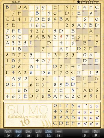 Sudoku 16 Monsterのおすすめ画像2