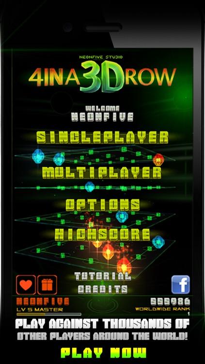 4 IN A 3D ROW LITE screenshot-4