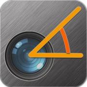 Rapporteur de la caméra(Camera Protractor) - Rapporteur + règle mesurer des objets de la vie réelle